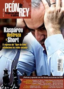 Revista de ajedrez Peón de Rey nº 117 (jul-ago 2015)